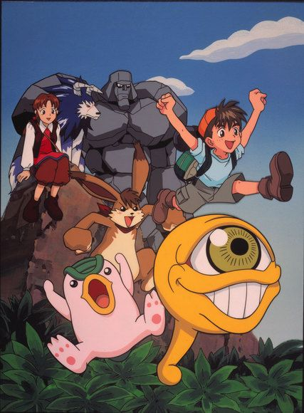 Monster Rancher. I can't believe no one remembers this show! :(