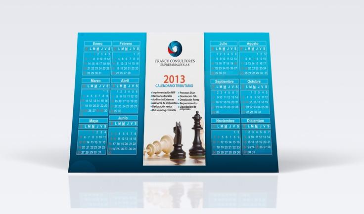 Calendario Escritorio 2013