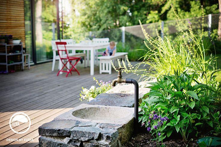 Dubeč, zahrada s kouhoutem | Atelier Flera