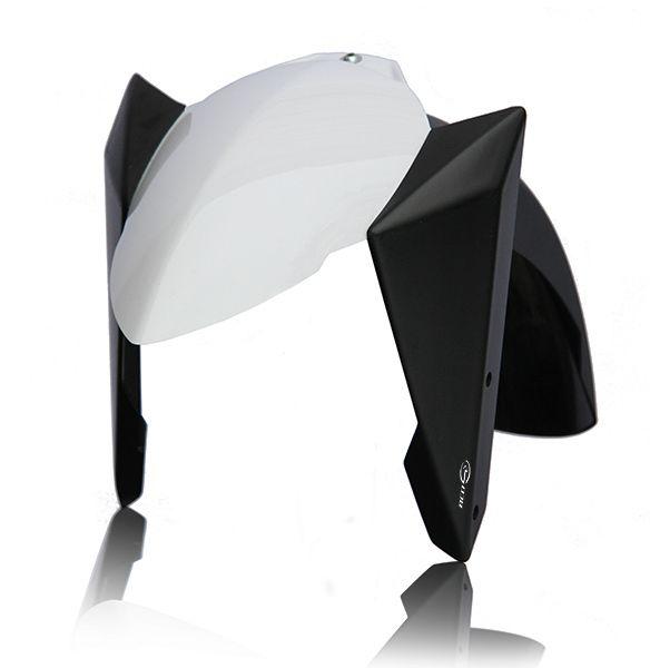 """BCD Garde-Boue Avant """"Blanc Brillant"""" Yamaha TMAX 500 / T-MAX 530T-MAX 530 4t LC inject (à partir de 2012)"""