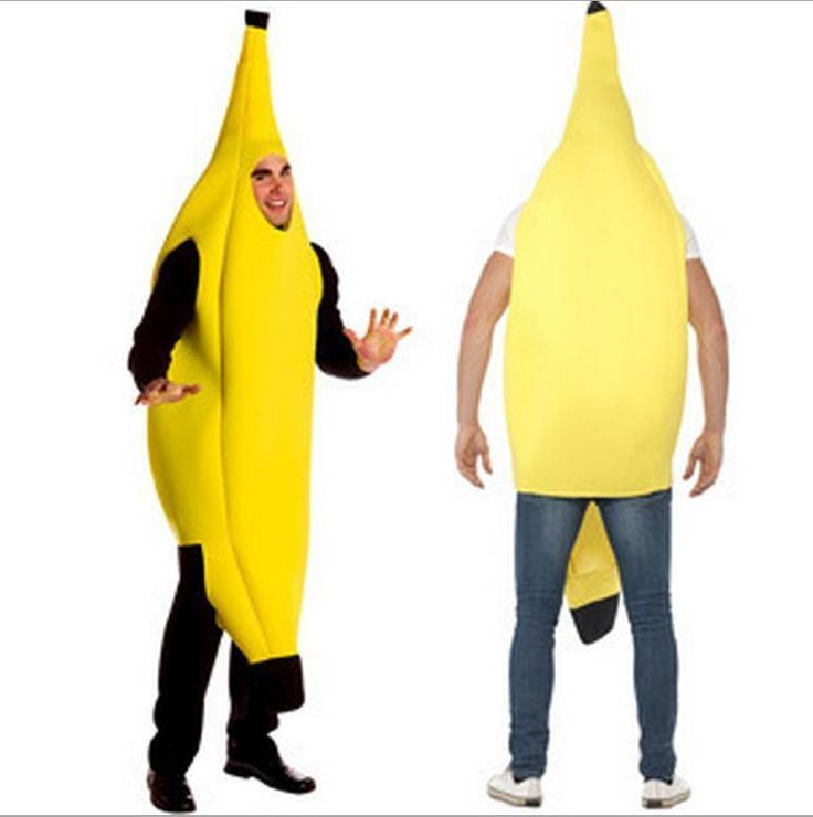 Adult Banana Fancy Dress Costume - Outfit Party Festival Stag Halloween #Haobo #Dress