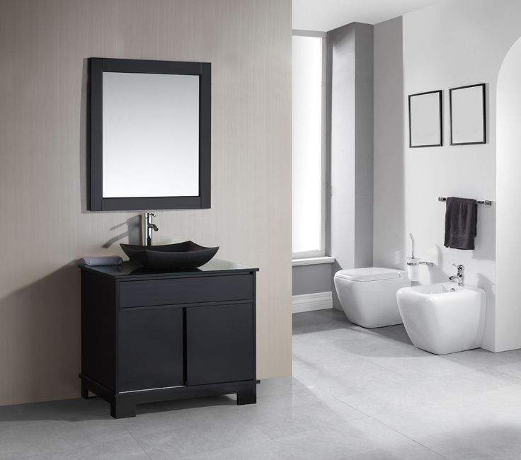 Design Element The Oasis 36 Single Sink Vanity Set Is Constructed Of Solid Wood Http Www