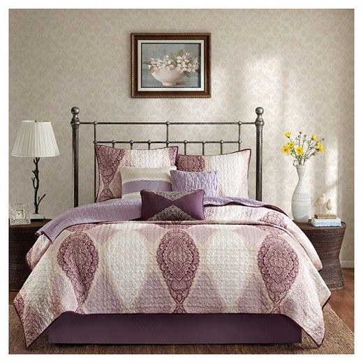 Corrine 6 Piece Quilted Coverlet Set : Target