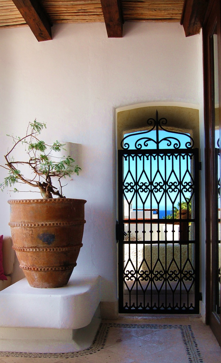 Images about mexican iron gates on pinterest