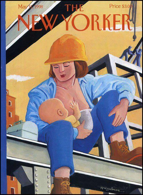 Actual New Yorker cover, May 1998  @Katie Schmeltzer Carter :)