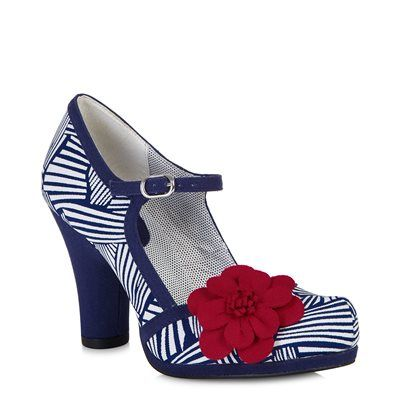 TANYA (Navy/White) another great looking pair of shoes from ruby shoo loving the heel