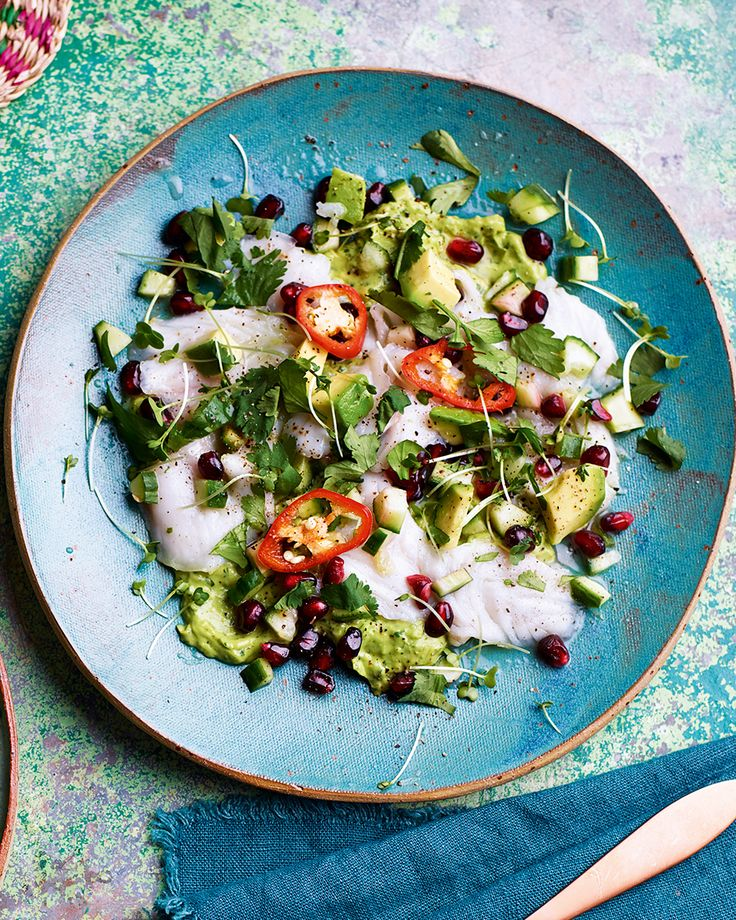 An elegant summery starter than will impress your guests but only takes 20 minutes to make.