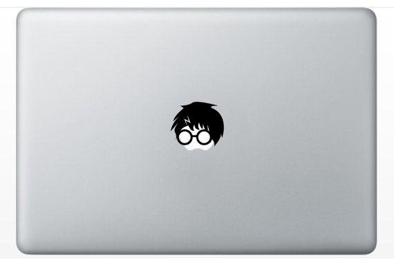 Harry Potter inspired decal - Macbook decal, Macbook sticker