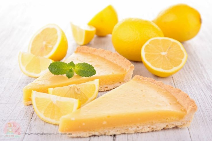 Lemon Tart | Stay at Home Mum