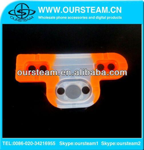 Резиновые кнопки контактной площадкой для PS3 игровой контроллер оранжевый