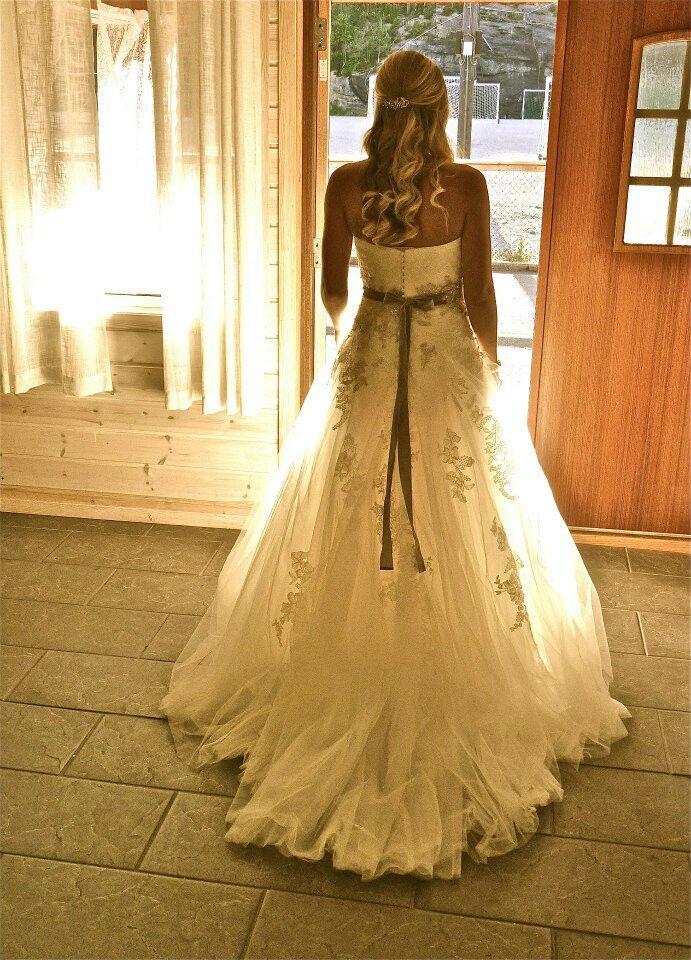 My wedding dress♡(back view)