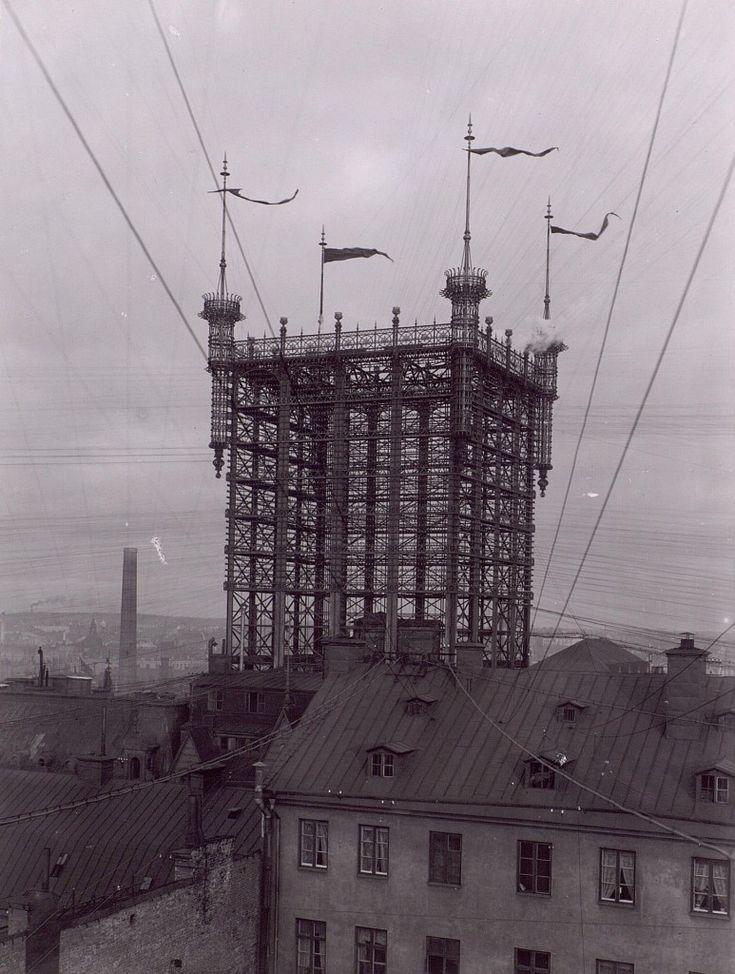 Telefontornet – wieża telefoniczna w Sztokholmie