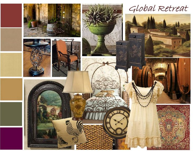Tuscan Color Palette | TRAD Board Is Inspired By European Influences Like,  Old World, Part 38