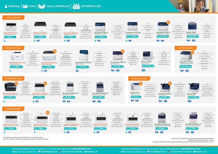 daftar harga resmi printer fuji xerox indonesia by plustech komputer bali https://www.plustech.co.id
