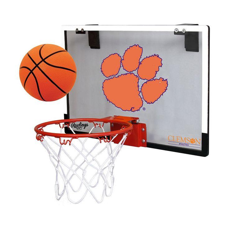Clemson Tigers Game On Hoop Set, Multicolor