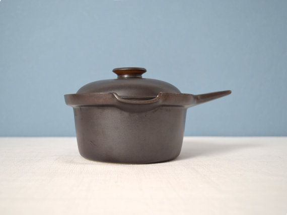 Vintage Arabia of Finland Liekki Covered Saucepan by Ulla Procope on Etsy, $30.00