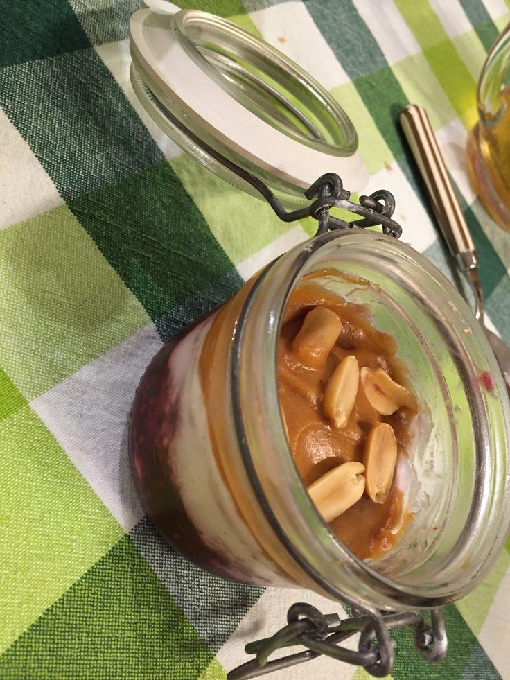 Panna cotta al burro di arachidi