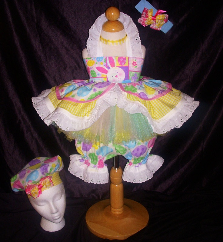 Easter wear with pastel TUTU - BCB PAGEANT WEAR