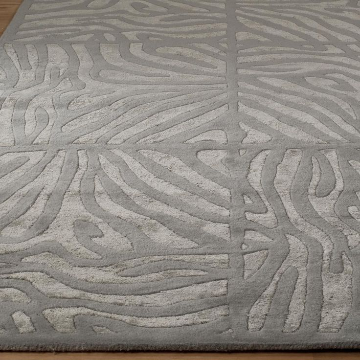 Candice Olson Luxury Zebra Carved Rug