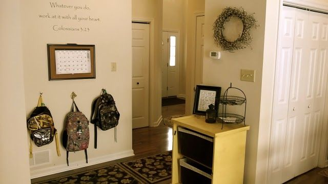 Terapie domova: Organizační série - den 1.