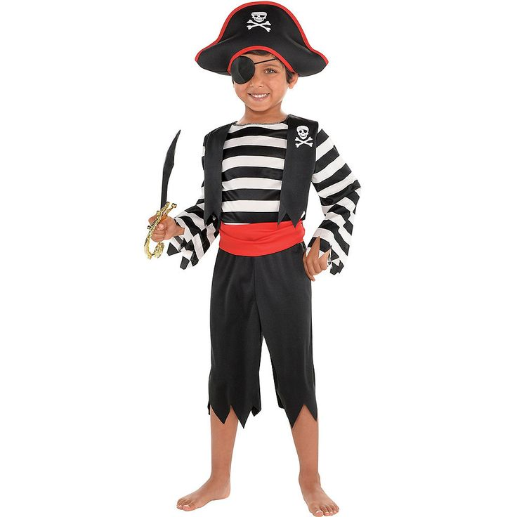 Toddler Boys Rascal Pirate Costume | Party City
