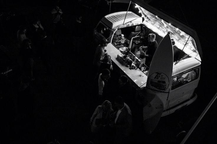 Запоминающийся коктейль бар на колёсах! VW t2 1975