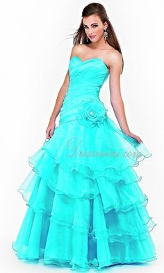 neon blue homecoming dresses - Google Search