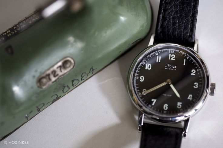 The Value Proposition: The Stowa Partitio Black Automatic, A 37 mm Vintage-Inspired Watch Under $1000