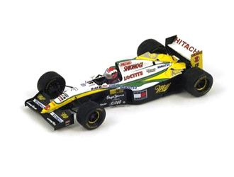 Lotus 109 (Johnny Herbert - Belgian GP 1994) in Green and Yellow (1:43 scale by Spark S1670)