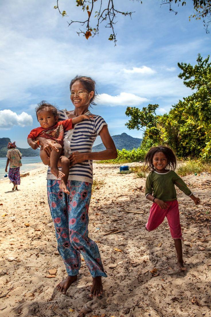 People of Borneo, Semporna, Malaysia