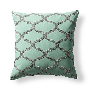 Chesapeake Beaded Decorative Pillow