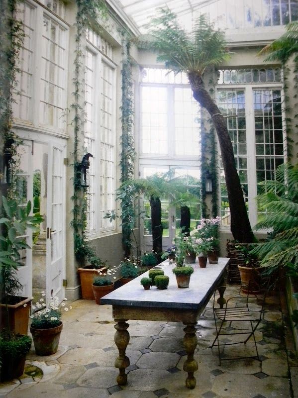 ...and if I can't have a green house, I want a conservatory. :)