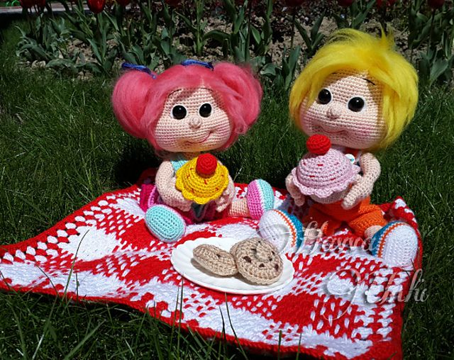 Ravelry: Sam and Kate Picnic Time by Havva Ünlü