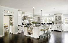 dream white kitchen | Flickr - Photo Sharing!