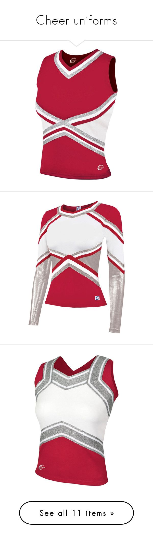 """""""Cheer uniforms"""" by obeyxxlove1372 ❤ liked on Polyvore featuring activewear, cheer, cheerleader, sport, chassè, skirts, sports, sport skirts, panel skirt and sports skirts"""