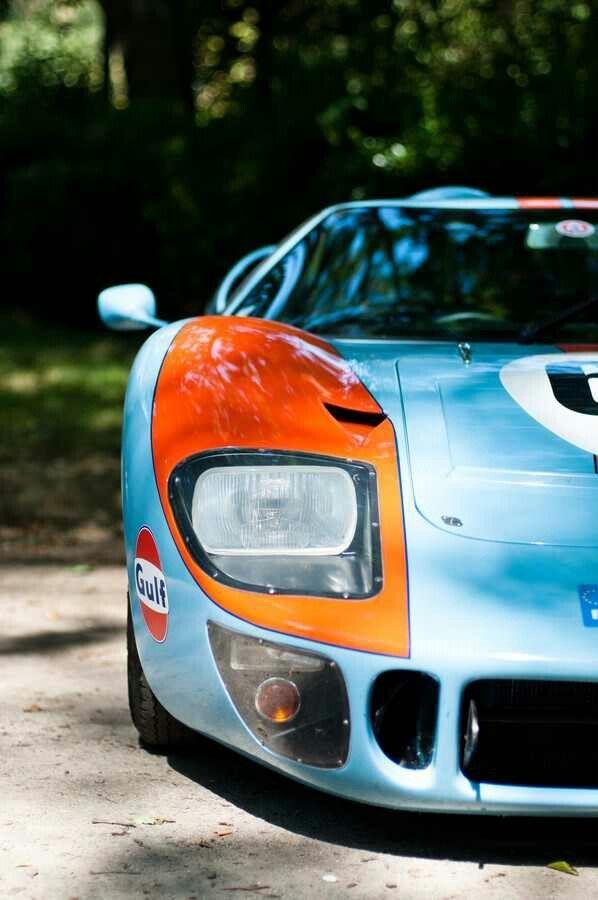 Seriously Cool Gulf Ford GT~ via carhoots.com