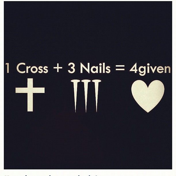 On Easter Friday ,Jesus Christ, died on a cross for our sins but 3 days later he concord death!!