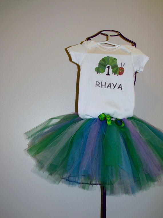 The Very Hungry Caterpillar Birthday Outfit by knitwhitscouture, $60.13