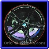 BMW 320I 2013 Wheels & Rims Hollander #71549 #BMW #320I #BMW320I #2013 #Wheels #Rims #Stock #Factory #Original #OEM #OE #Steel #Alloy  #Used