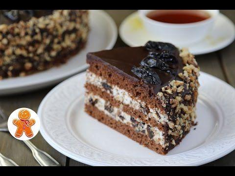 """Торт """"Чернослив в Шоколаде"""" ✧ Очень Рекомендую! - YouTube"""