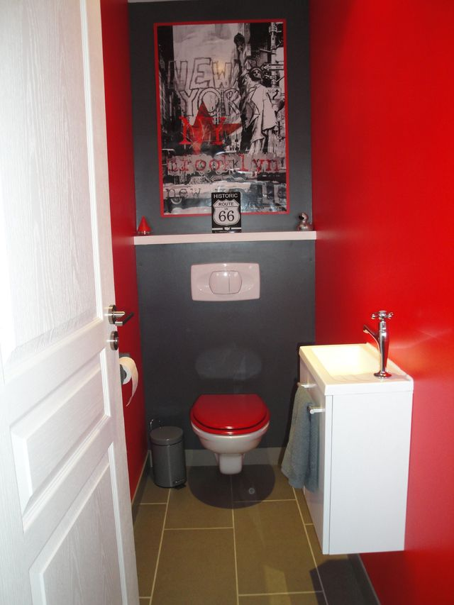 97 best Toilette images on Pinterest Bathroom, Half bathrooms and - Comment Decorer Ses Toilettes
