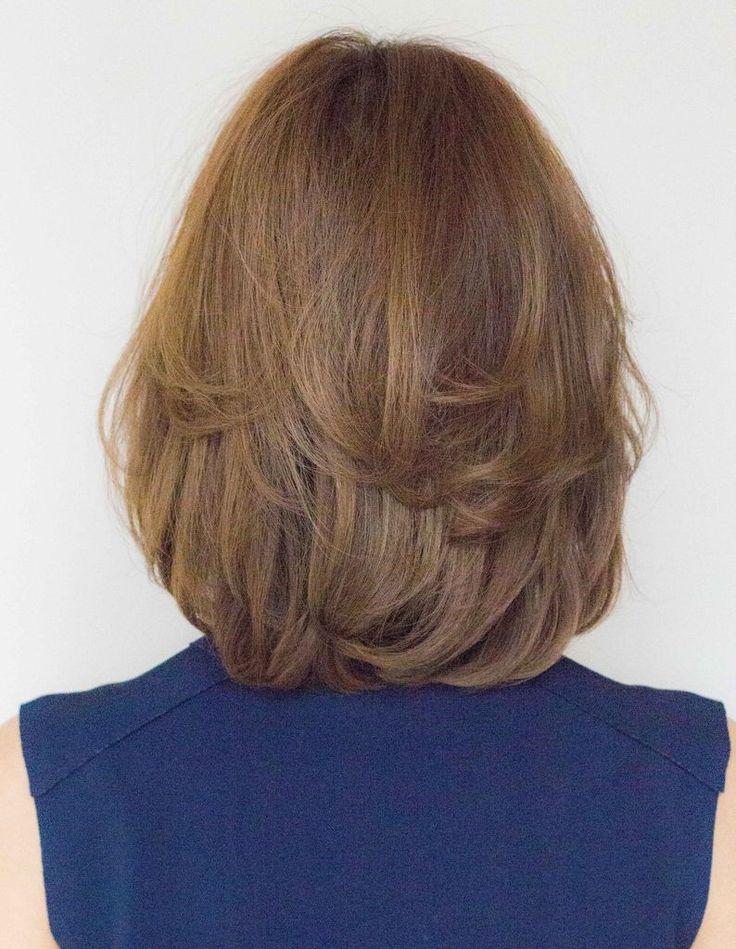 女性らしさ満点のコロッとカールミディ ENー116 | ヘアカタログ・髪型・ヘアスタイル|AFLOAT(アフロート)表参道・銀座・名古屋の美容室・美容院