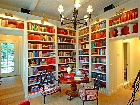 love the library  - books, light, everything (country english library)