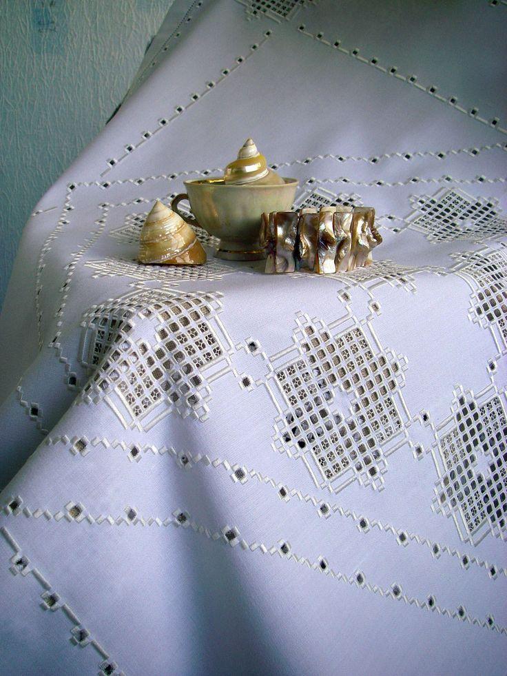 БОЛЬШАЯ БЕЛАЯ САЛФЕТКА Napkin cotton large