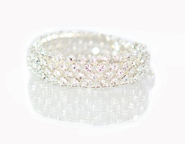 Clear Diamante Bracelet - Clara Jewellery