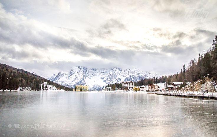 Misurina lake Trentino Aldo Adige Veneto Italy #travel