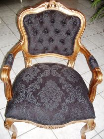 Redecore Interiores Ltda.: Cadeira Neoclássica Luis XV