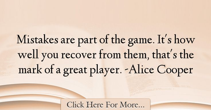 Alice Cooper Quotes About Great - 31813
