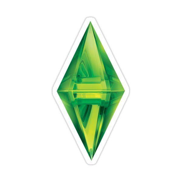 Sims 3 Plumbob Sticker By Morgan Reveal In 2021 Overlays Sims Png