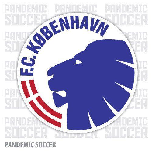 FC Kobenhavn Denmark Color Vinyl Sticker Decal